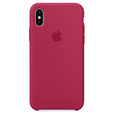 Avis Apple Coque en silicone Rose rouge Apple iPhone X