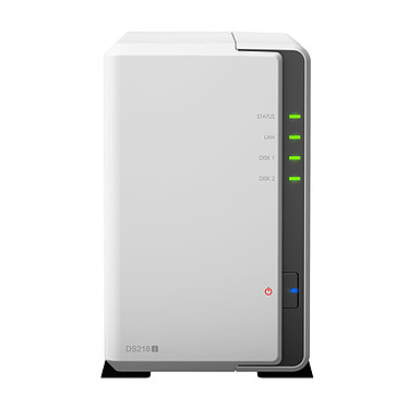 Synology DiskStation DS218j Barebone Serveur NAS 2 baies