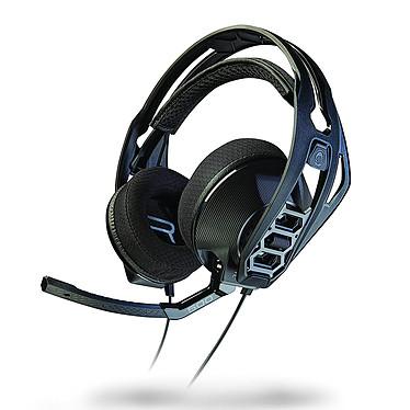 Plantronics RIG 500HX Auriculares para jugadores - piezas modulares y reemplazables (auriculares, aro, micrófono...) - conector de 3,5 mm - auriculares dinámicos de 40 mm - micrófono con cancelación de ruido - Compatible con Xbox One y PC