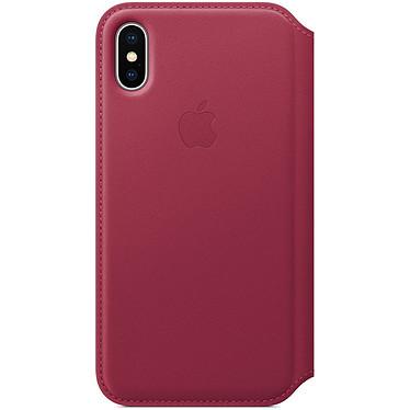 Avis Apple Étui Folio en cuir Fruits rouges Apple iPhone X · Occasion