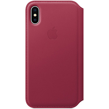Opiniones sobre Apple Funda de piel Folio Red Fruits Apple iPhone X