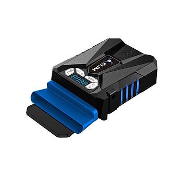 KLIM Cool Azul Sistema de refrigeración para ordenador portátil