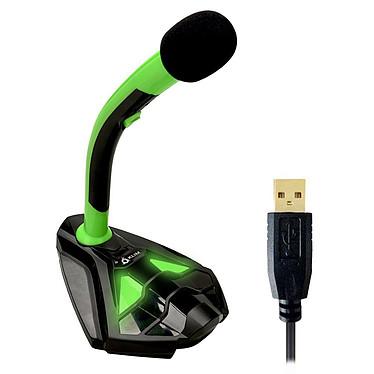 KLIM Voice (vert) Microphone USB pour streaming, gaming, prise de son... (compatible avec tous les OS: PC, Mac, Linux, PS4...)