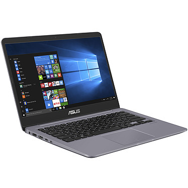 "ASUS Vivobook S14 S410UN-EB079T Intel Core i7-8550U 8 Go SSD 256 Go + HDD 1 To 14"" LED Full HD NVIDIA GeForce MX150 Wi-Fi AC/Bluetooth Webcam Windows 10 Famille 64 bits (garantie constructeur 2 ans)"
