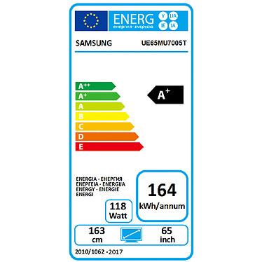 Samsung UE65MU7005 pas cher