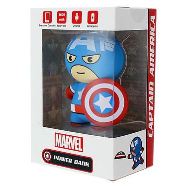 Acheter Lazerbuilt Kawaii Powerbank Marvel Captain America 2600 mAh