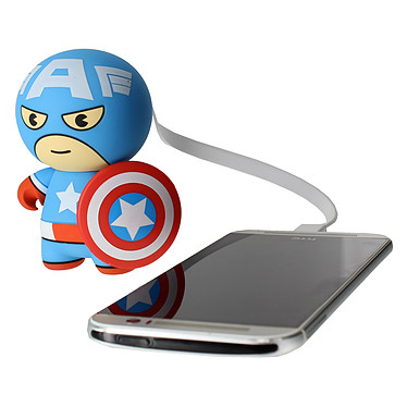 Avis Lazerbuilt Kawaii Powerbank Marvel Captain America 2600 mAh