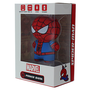 Acheter Lazerbuilt Kawaii Powerbank Marvel Spiderman 2600 mAh