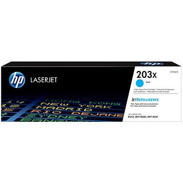HP LaserJet 203X (CF541X) Toner Cyan haute capacité (2 500 pages à 5%)