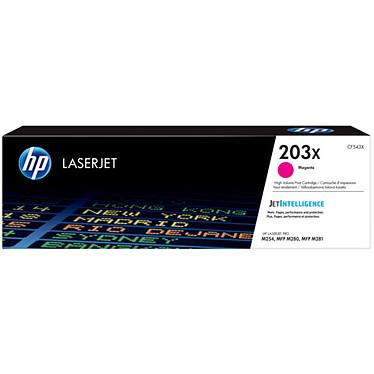 HP LaserJet 203X (CF543X) Toner Magenta haute capacité (2 500 pages à 5%)