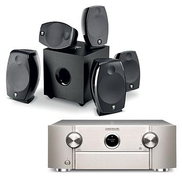 Marantz SR6012 Argent + Focal Sib Evo 5.1.2 Dolby Atmos