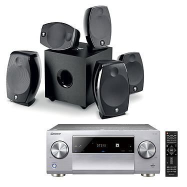 Pioneer SC-LX901 Argent + Focal Sib Evo 5.1.2 Dolby Atmos