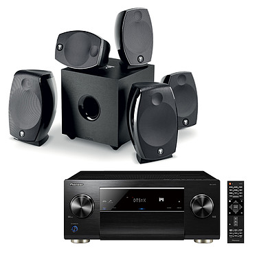 Pioneer SC-LX701 Noir + Focal Sib Evo 5.1.2 Dolby Atmos