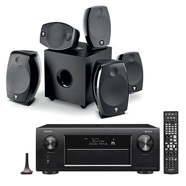 Denon AVR-X6400H Noir + Focal Sib Evo 5.1.2 Dolby Atmos