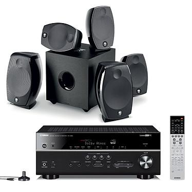 Yamaha MusicCast RX-V683 Noir + Focal Sib Evo 5.1.2 Dolby Atmos