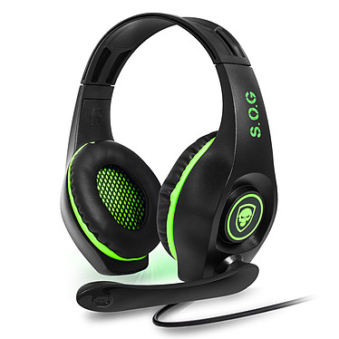 Spirit of Gamer PRO-XH5 Casque-micro pour gamer (compatible Xbox One)