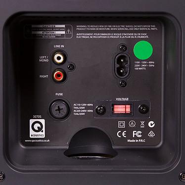 Avis Q Acoustics 3070S Noir laqué