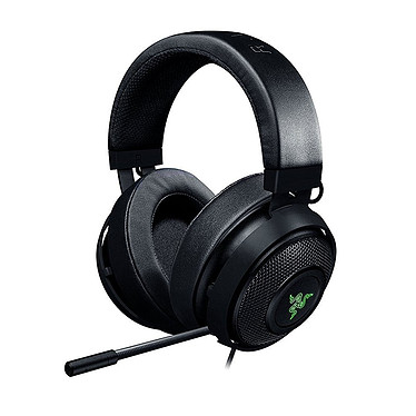 Razer Kraken 7.1 v2 Oval (Negro) Auriculares con micrófono USB 7.1 circumaurales cerrados con retroiluminación RGB multicolor personalizable para jugar