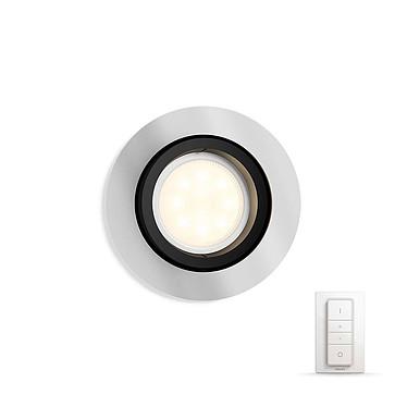 Philips White ambiance Milliskin Spot à encastrer avec variateur - Chromé