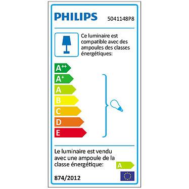 Philips White ambiance Milliskin Spot à encastrer - Chromé pas cher