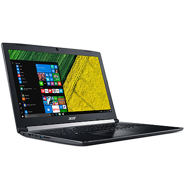 "Acer Aspire 5 A517-51-353X Intel Core i3-7020U 8 Go SSD 128 Go + HDD 1 To 17.3"" LED Full HD Graveur DVD Wi-Fi AC/Bluetooth Webcam Windows 10 Famille 64 bits"