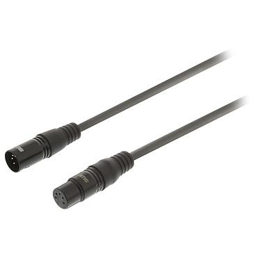 Sweex Câble XLR Mâle 5 Broches / XLR Femelle 5 Broches (1m)