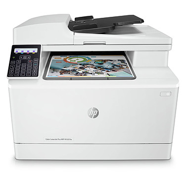 HP Color LaserJet Pro MFP M181fw Imprimante multifonction laser 4-en-1 (USB 2.0/Ethernet/Wi-Fi)