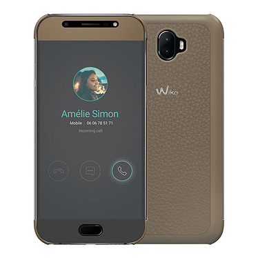 Wiko Smart Folio Wiview Beige WIM