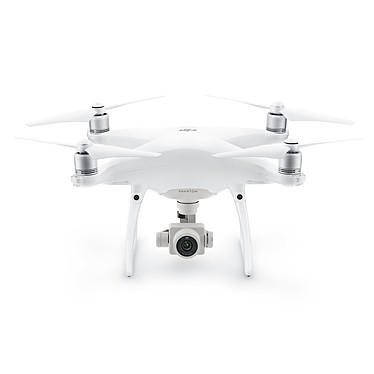 DJI Phantom 4 Pro Cuadricóptero con cámara de a bordo de 4K, alcance de 7000 m y mando a distancia (compatible con iOS y Android)