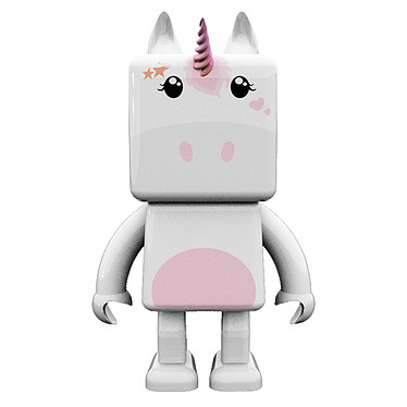 MOB Dancing Animals Licorne Mini enceinte portable sans fil Bluetooth avec fonction mains libres - Mode danseur