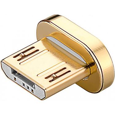 Goobay Plug Magnetic micro USB-B Mâle Connecteur magnétique micro USB Type-B mâle de remplacement