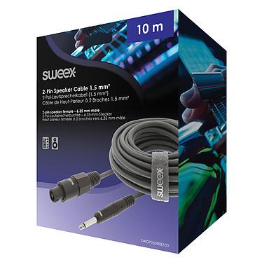 Avis Sweex Câble Mâle 2 Broches / Mâle 6.35 mm (10m)