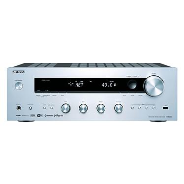 Onkyo TX-8250 Argent Ampli-tuner stéréo réseau 2 x 135 W  - Wi-Fi/Bluetooth - Chromecast - AirPlay - Tuner FM/DAB+ - Hi-Res Audio - DTS Play-Fi - Multiroom FireConnect