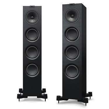 KEF Q550 Noir Enceinte colonne (par paire)