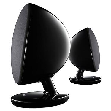 KEF EGG Wireless Noir Système numérique sans fil (par paire)