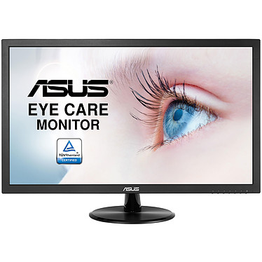 """ASUS 21.5"""" LED - VP228DE 1920 x 1080 pixels - 5 ms (gris à gris) - Format large 16/9 - Noir (garantie constructeur 3 ans)"""
