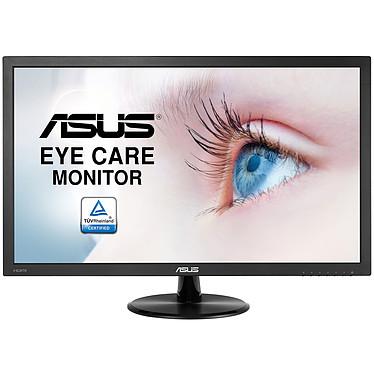 """ASUS 23.6"""" LED - VP247HA  1920 x 1080 pixels - 5 ms (gris à gris) - Format large 16/9 - Dalle VA - HDMI - Noir (garantie constructeur 3 ans)"""