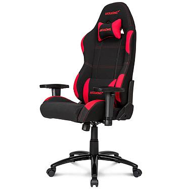 AKRacing Gaming Chair (rouge) · Occasion · Occasion Siège en tissu avec dossier réglable à 180° et accoudoirs 1D pour gamer (jusqu'à 150 kg) - Article utilisé, garantie 6 mois