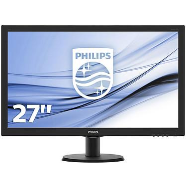 """Philips 27"""" LED - 273V5LHSB 1920 x 1080 pixels - 1 ms (gris à gris) - Format large 16/9 - HDMI - Noir"""
