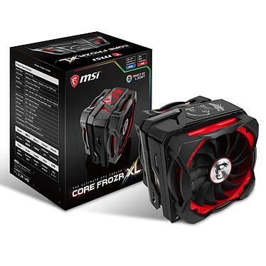 MSI Core Frozr XL Ventilateur processeur (pour Socket Intel LGA 2066 / 2011-3 / 2011 / 1366 / 1156 / 1155 / 1151 / 1150 / 775 et AMD AM4 / FM2 / FM1 / AM3+ / AM3 / AM2+ / AM2)