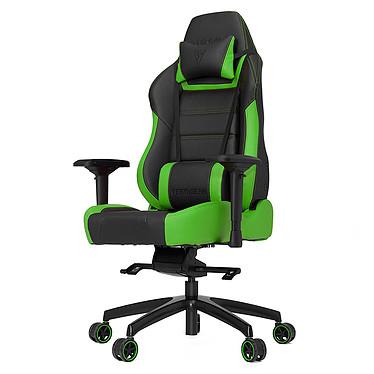 Vertagear Racing PL6000 (vert) Siège en similicuir avec dossier réglable à 150° et accoudoirs 4D pour gamer (jusqu'à 200 kg)