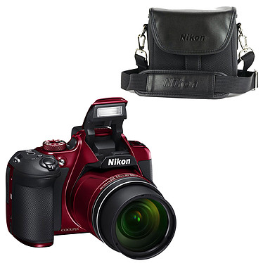 Nikon Coolpix B700 Rouge + CS-P08