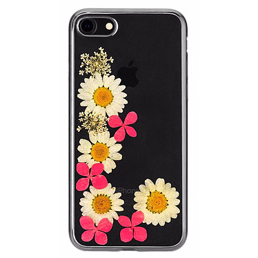 Flavr iPlate Real Flower Ella iPhone 6/6s/7/8 Coque de protection transparente florale pour iPhone 6/6s/7/8