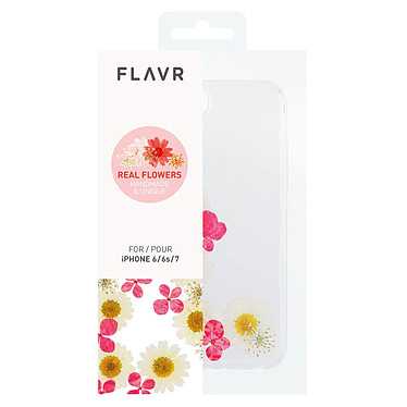 Flavr iPlate Real Flower Ella iPhone 6/6s/7/8 pas cher