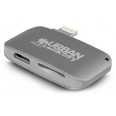 Urban Factory Lightning Card Reader Lecteur de cartes Micro-SD(HC) Lightning