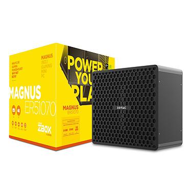 ZOTAC ZBOX MAGNUS ER51070 AMD Ryzen 5 1400 GeForce GTX 1070 Wi-Fi AC / Bluetooth 4.2 (sans écran/mémoire/disque dur)