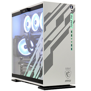 LDLC PC10 Coffee Macchiato Intel Core i7-9700K (3.6 GHz) 16 Go SSD NVMe 240 Go + HDD 2 To NVIDIA GeForce RTX 2080 8 Go Windows 10 Famille 64 bits (monté)