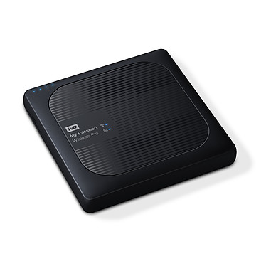 Acheter WD My Passport Wireless Pro 4 To Noir (Wi-Fi/USB 3.0/SD-Card)