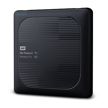 Avis WD My Passport Wireless Pro 1 To Noir (Wi-Fi/USB 3.0/SD-Card)