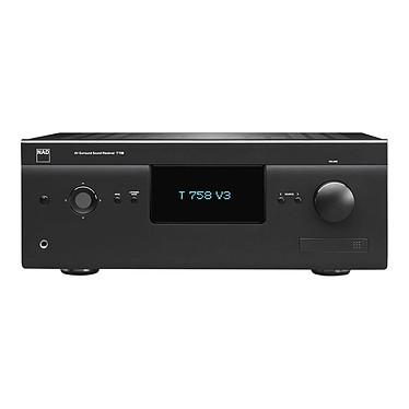 NAD T 758 V3 Graphite Ampli-tuner Home Cinema 7.1 - 7 x 60 W - 3x HDMI 2.0 - HDCP 2.0 - Ultra HD 4K - Multiroom BluOS - Dirac Live - Hi-Res Audio - Dolby Atmos - Conception modulaire MDC